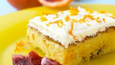 Saftig appelsinkake med sjokolade (in Norwegian) Cake Bars, Recipe Boards, Vanilla Cake, Cake Recipes, Cheesecake, Food And Drink, Muffins, Eat, Desserts