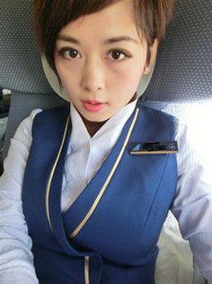 【China】 China Southern Airlines cabin crew / 中国南方航空 客室乗務員 【中国】 China Southern Airlines, Airline Cabin Crew, China China, Flight Attendant, Lady, Clothing