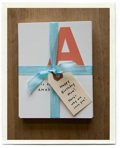 ABC card  printable - write a special trait or memory for each letter
