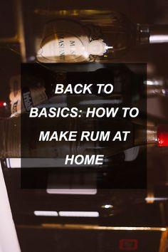 Back To Basics: How To Make Rum At Home | Survival Shelf | Survivalist & Prepper Links