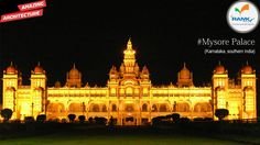 #AmazingArchitecture  - #MysorePalace at #Karnataka, India. The #Palace of #Mysore (also known as the Amba Vilas Palace) is a historical palace in the city of Mysore in #Karnataka, southernIndia. It is the official residence and seat of the #Wodeyars - The#Maharajas of Mysore, the former royal family of Mysore, who ruled the princely state of Mysore from 1350 to 1950. The palace houses two durbar halls (ceremonial meeting halls of the royal court) and incorporates a Mesmerizing and Gigantic…