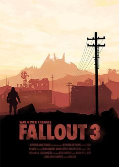 Fallout 3 Posters - Created by Conor Smyth