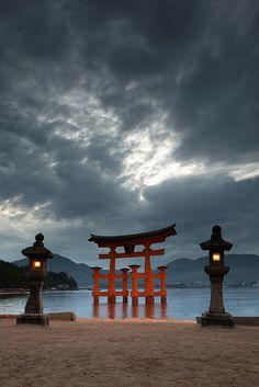 Miyajima Itsukushima shrine, Japan ≫ one of the three great views of Japan☆