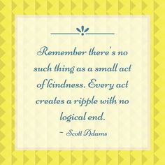 Even the smallest acts of kindness makes a difference! . Let's keep encouraging our kids to be kind and compassionate to all.