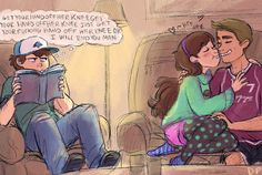 Pinecest Photo: Gravity Falls - Dipper and Mabel Pines - Pinescest - cute anime couple. Gravity Falls Fan Art, Gravity Falls Comics, Gravity Falls Dipper, Dipper And Mabel, Mabel Pines, Dipper Pines, Desenhos Gravity Falls, Pinecest, Dipcifica