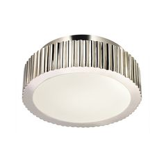 Sonneman Lighting Modern Flushmount Light in Polished Nickel Finish | 4628.35 | Destination Lighting
