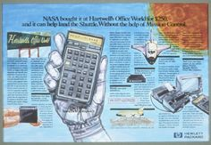 Nasa, Artificial Brain, Mission Control, Hewlett Packard, Computer Hardware, Walkie Talkie, Calculator, Technology, Stuff To Buy