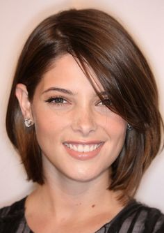 hair cut idea...I'd have to lose at least 4 inches...but I think I'd be happier with it