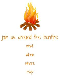 Bonfire Party Invites was best invitations template