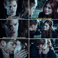 "#Shadowhunters 2x20 ""Beside Still Water"" - Clary and Jace"