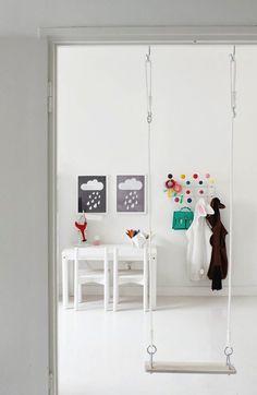Indoor Doorjam Swing.