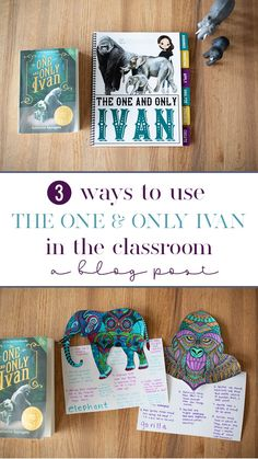 Using Hands-On Activities and Resources for Teaching The One and Only Ivan 5th Grade Books, 5th Grade Writing, Teaching 5th Grade, 6th Grade Reading, 6th Grade Ela, 4th Grade Science, 4th Grade Crafts, Craft Projects For Adults, Art Projects