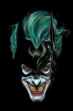 Here Are 15 of the Creepiest and Most Badass Pieces of Joker Fan Art…