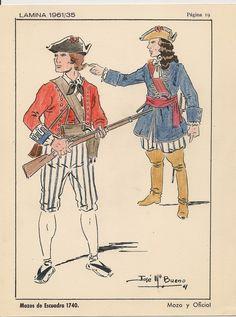 Mossos d'Esquadra al 1740.
