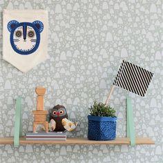 FERM LIVING Regalhalterung mint, 2er Set