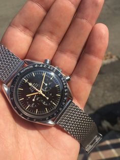 Omega Speedmaster 861, uear 69, tropical dial