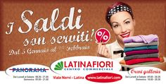 Proposta #saldi per #centrocommerciale Latina Fiori #vintage