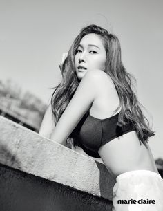 Jessica Jung posing in a photo shoot for Marie Claire Korea Magazine May Issue 2015.