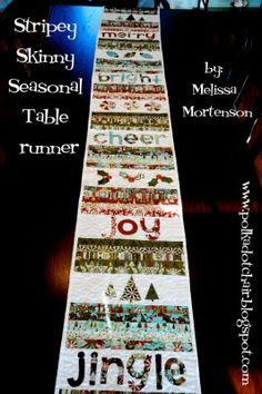 seasonal table runner