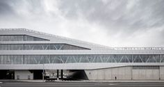 Innovative combination of infrastructure and urban space: New Värtaterminalen ferry terminal in Stockholm by C.F. Møller Architects