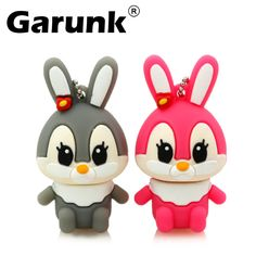 pendrive caroon lovely rabbit usb flash drive 4gb 8GB u disk 16GB 32G usb flash hang decorations memory stick pen drive for girl-in USB Flash Drives from Computer & Office on Aliexpress.com | Alibaba Group