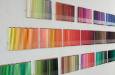 felissimo orchestra display case for coloured pencils from japan