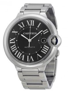 Cartier Ballon Bleu Black Dial Stainless Steel Watch W6920042