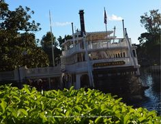 Liberty Belle boat ride at Walt Disney World's Magic Kingdom in Orlando, Florida
