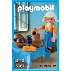 'The Milkmaid' Playmobil   Playmobil 'The Milkmaid', c. 1660 of Johannes Vermeer exclusively made for the Rijksmuseum.