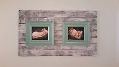 Pallet / Barn wood wall decor with frames by SunshineYankee on Etsy https://www.etsy.com/listing/209468297/pallet-barn-wood-wall-decor-with-frames