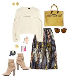 Designer Clothes, Shoes & Bags for Women Fashion Sets, Fashion Outfits, Womens Fashion, Blue Outfits, Casual Outfits, Ladies Wear, Women Wear, Look Girl, A Line Prom Dresses