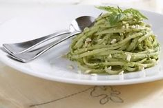 Cashew Basil Pesto from Plant Powered Kitchen. Make with raw zucchini noodles!