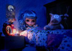 Midnight: Daddy?....Daddy!!!....I can't sleep, I'm so frightened!! | Blythe DolL *by ERegIRo*^^^