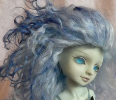 Moona bjd elf by The Sleeping Elf <3  hair... love it...