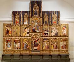 Retablo del arzobispo don Sancho de Rojas - Colección - Museo Nacional del Prado