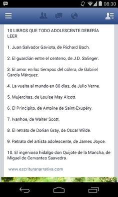Libros para Jorge Emilio
