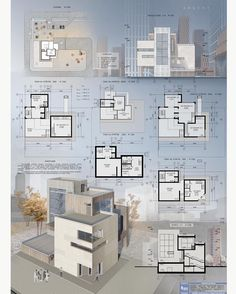 Final Project by Concept Board Architecture, Interior Architecture Drawing, Scandinavian Architecture, Architecture Presentation Board, Facade Architecture, Interior Design Presentation, Facade Design, Layout, Ideas