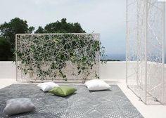 Les plus beaux claustras pour isoler un jardin
