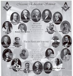 Cameo depictions, of some famous men of history, that were members of the Masonic Order. Masonic Order, Masonic Art, Masonic Lodge, Masonic Symbols, Illuminati, Famous Freemasons, Freemasons History, Templer, Eastern Star