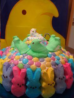 My version of a peep cake! :)