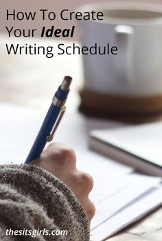Do you feel like you can never find the PERFECT time to write? Learn how to create a writing schedule that works with your life, and you will find yourself writing more and more!