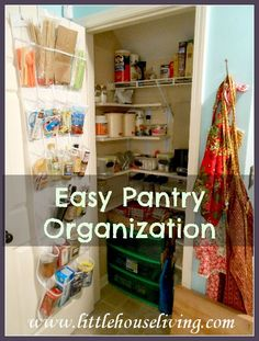 Pantry Organization Ideas (Organize Your Pantry The Easy Way!)
