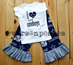 Hey, I found this really awesome Etsy listing at http://www.etsy.com/listing/160939846/dallas-cowboys-girls-2pc-custom-outfit