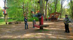 Świnoujście, park linowy atrakcja dla dużych i małych #park #swinoujscie #parklinowy #atrakcjaturystyczna