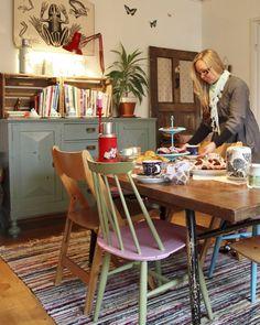 Kodikas ruokailutila. Cosy dining room.   Unelmien Talo&Koti Kuva: Johanna Lehtinen Toimittaja: Tanja Hakala