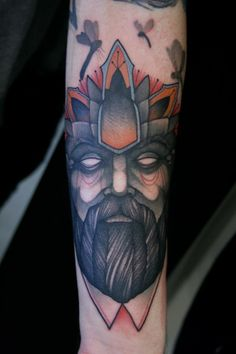 Tattoo by Mitch Allenden // something about this makes me want to start singing 'in the hall of the mountain king...'