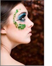 Fantasy Makeup Fairy | Colorful stick on gems are perfect for using in your fantasy makeup ...