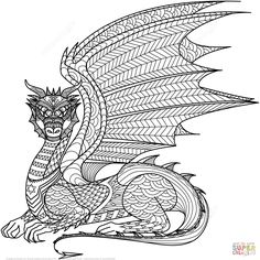 Die 78 Besten Bilder Von Drachen Ausmalbilder In 2019 Dragon