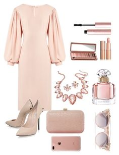 """Untitled #186"" by saghar-alaei ❤ liked on Polyvore featuring Osman, Casadei, Dune, Belkin, Thalia Sodi, Jimmy Choo, Marchesa, Urban Decay, Guerlain and Too Faced Cosmetics"
