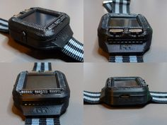 Oscilloscope Watch is a Must Have for Geeks  - http://www.crunchwear.com/oscilloscope-watch-must-geeks/
